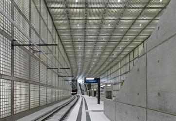 """Construcción de la línea 8 y """"B"""" del Metro"""
