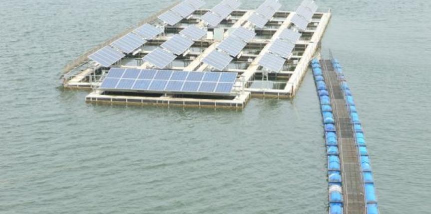 Proyecto Flotante de energía solar