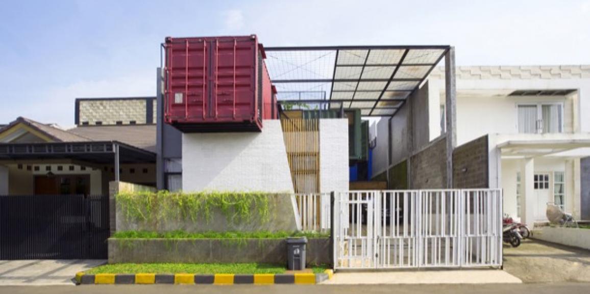 Casa container para una familia de Bekasi